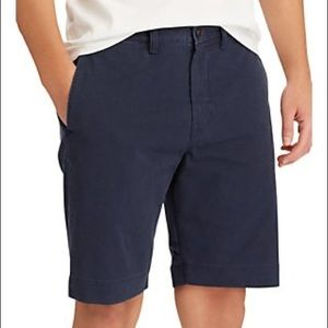 Men's Polo by Ralph Lauren Flat Front Navy Shorts